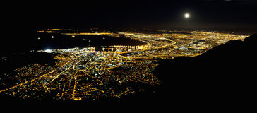 Cape Town by night Stockfoto