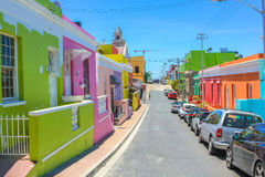 Cape Town Bo-Kaap Stock Photos
