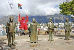 Cape Town city centre, Nobel Square Stock Photos