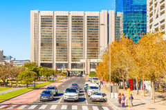 Cape Town City Dowtown Business District South Africa Royalty Free Stock Photos
