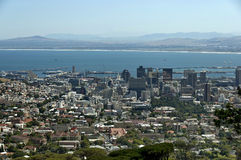 Cape Town - city and harbor area Stock Photography