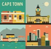 Cape town city. Stock Photos