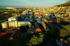 Cape Town City Scenery Royalty Free Stock Photos
