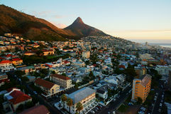 Cape Town City Scenery Royalty Free Stock Photography