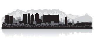 Cape Town city skyline vector silhouette Vector Illustration