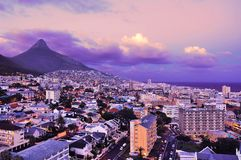 Cape Town. City of Cape Town, South Africa. Cape Town is the second largest city in South Africa and is the capital of the Western Cape Province Royalty Free Stock Photo