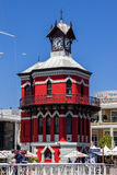 Cape Town Clock Tower Royalty Free Stock Photography
