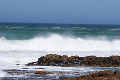 Cape Town coast royalty free stock photography