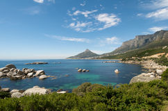 Cape Town Coastline Stock Photography