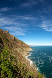 Cape town coastline Royalty Free Stock Image