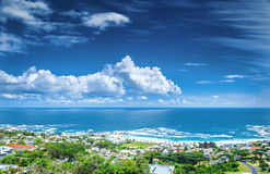 Cape Town coastline Royalty Free Stock Photos