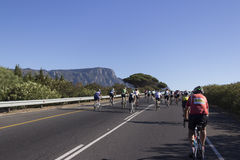 Cape Town Cycle Tour Royalty Free Stock Photo