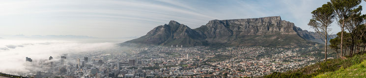 Cape Town early in the morning Stock Photo