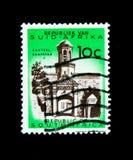 Cape Town, entrata del castello, edizione definitiva - ser decimale dell'edizione Immagine Stock Libera da Diritti
