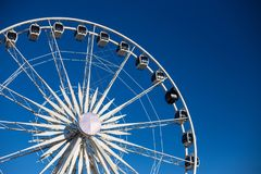 Cape Town Ferris Wheel foto de stock royalty free