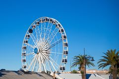 Cape Town Ferris Wheel stock images