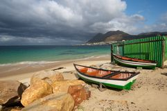 Cape Town fishing boats Stock Photo