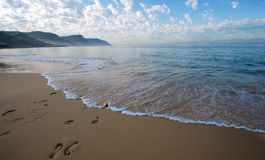 Cape Town footsteps Royalty Free Stock Image