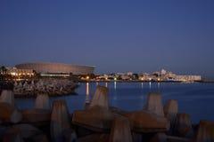 Cape Town-Green Point Stadium Stockfotos