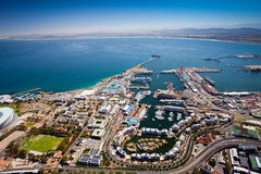 Cape town harbor Stock Photos