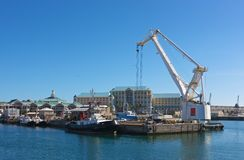 Cape Town harbor. South Africa, Cape Town, harbor Royalty Free Stock Photo