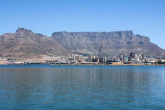 Cape Town Harbor Stock Photo
