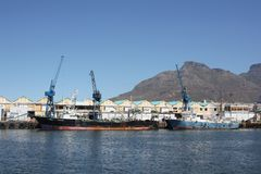 Cape Town Harbor Royalty Free Stock Image