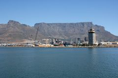 Cape Town Harbor Royalty Free Stock Photo