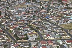 Cape Town, house Stock Images