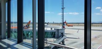 Cape Town Interbational flygplats royaltyfri foto