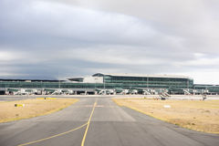 Cape Town internationell flygplats Royaltyfria Foton