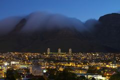 Cape town lions head. Cape town south africa summer 2013 Royalty Free Stock Photo