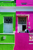Cape Town Malayan region-Bo-Kaap Royalty Free Stock Photo
