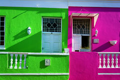 Cape Town Malayan region-Bo-Kaap Royalty Free Stock Photos