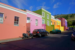 Cape Town Malayan region-Bo-Kaap Royalty Free Stock Images