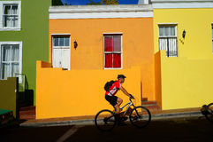 Cape Town Malayan region-Bo-Kaap Stock Photography