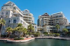 Cape Town Marina Apartments stock photos