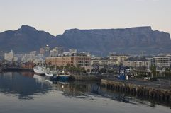 Cape Town is a marvelous city, a wonderful city. Everyone should see this scene once in your life, the colorful life there is not anywhere in the world Stock Photography