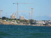 Cape Town-Meerblick Lizenzfreies Stockbild