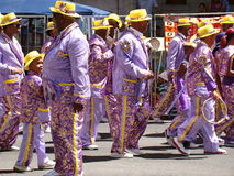 Cape Town Minstrels royalty free stock photo