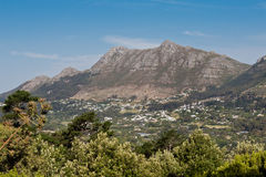 Cape Town Mountains Royalty Free Stock Image