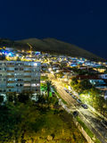 Cape Town at Night Stock Photography