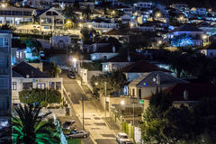 Cape Town at Night Stock Images