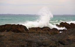 Cape Town - ondas Foto de Stock Royalty Free