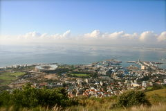 Cape Town - panorama Foto de Stock Royalty Free