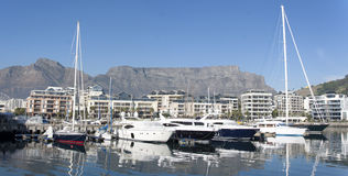Cape Town Panorama. South Africa Royalty Free Stock Photography
