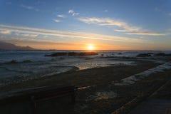 Cape Town-Panorama Lizenzfreies Stockbild