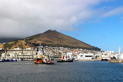 Cape Town port Royalty Free Stock Photo