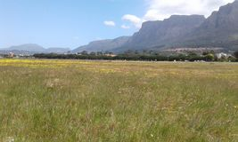 Rondabosh comm afternoon. Cape town rondabosh Royalty Free Stock Images