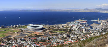 Cape Town's waterfront Stock Image